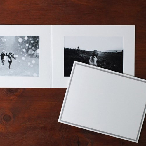 5X7 photo frame card with envelope