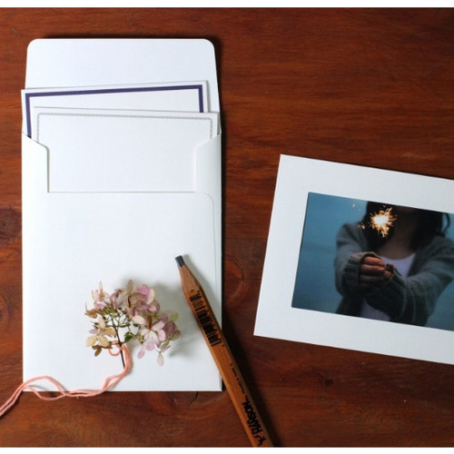 4X6 photo frame card with envelope