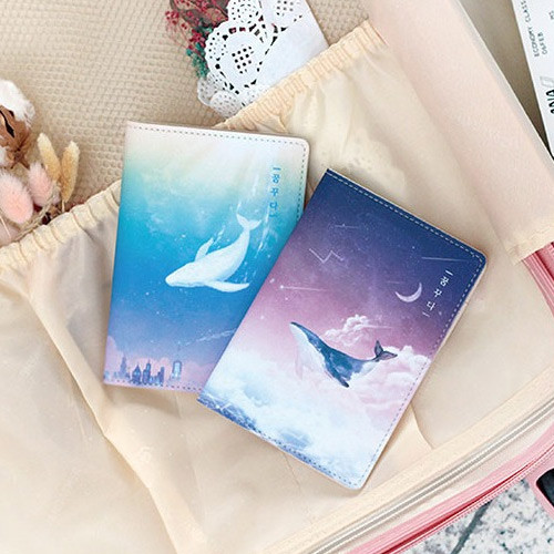 PLEPLE Dreaming travel passport cover case holder