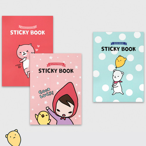 Cute illustration marif sticky notebook
