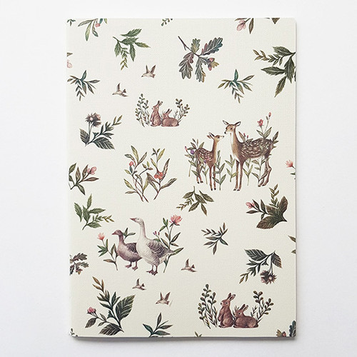 O-check Le cahier harmony medium lined notebook