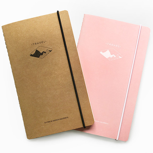 O-check Light travel daily planner notebook