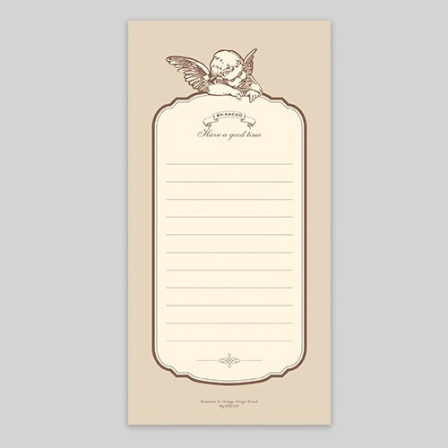 NACOO Have a good time angel lined notepad