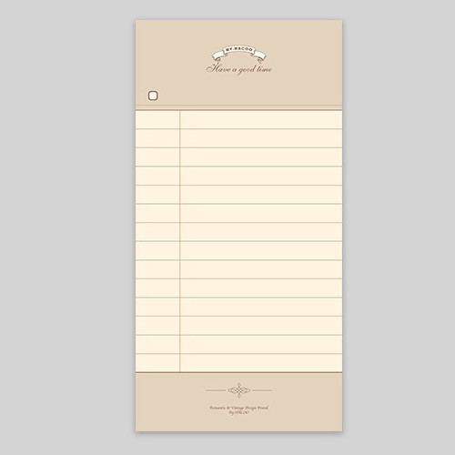 NACOO Have a good time classic lined notepad