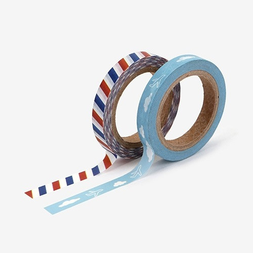 Dailylike Post slim deco masking tape set