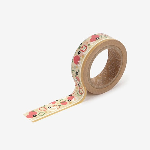 Pizza single roll washi masking tape