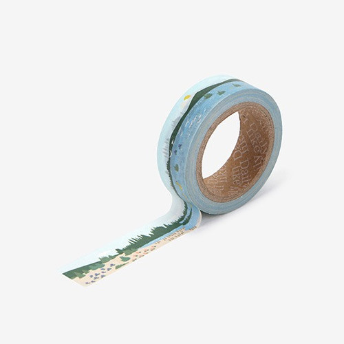 Lake single roll washi masking tape