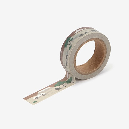 Safari single roll washi masking tape