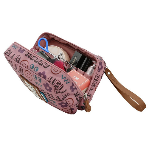 Monopoly Enjoy journey travel small multi zipper daily pouch