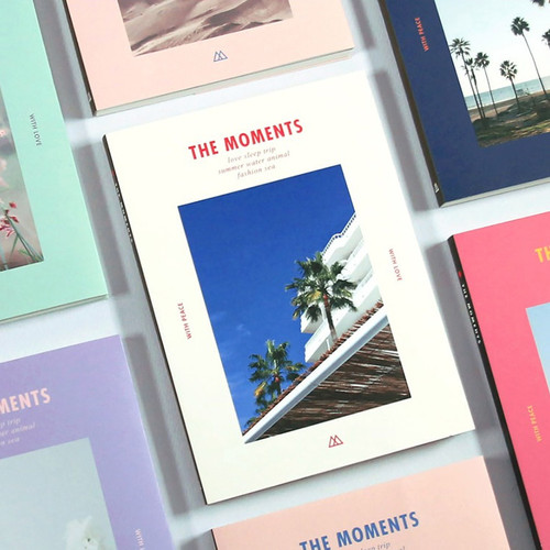 The moments dateless weekly diary planner
