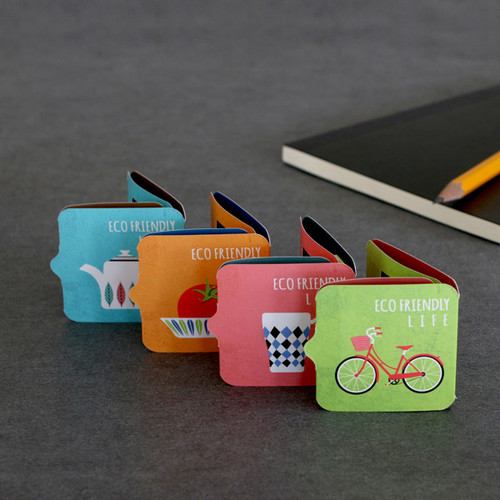 Eco friendly magnetic bookmark
