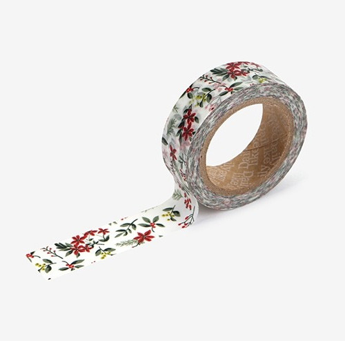 Dailylike Red berry single roll washi masking tape