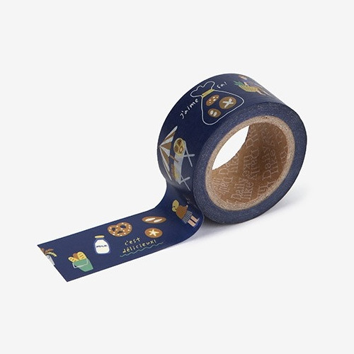 Dailylike Deco 25mm single roll masking tape - Bakery