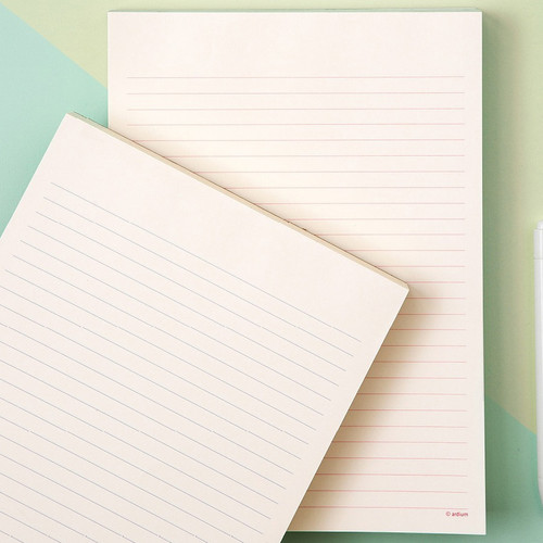 Ardium 200 Sheets lined letter format notepad