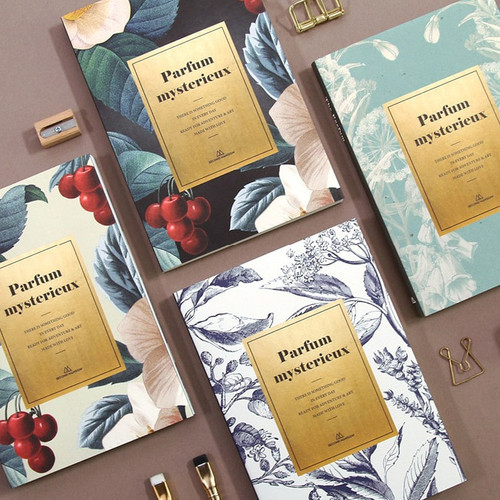 Second Mansion Perfume dateless weekly diary planner