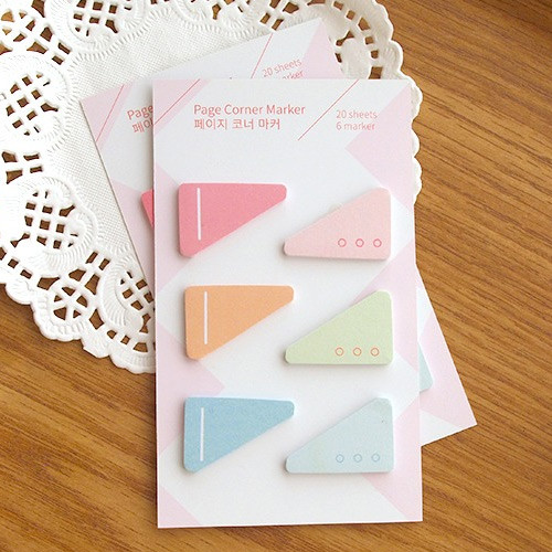 N.IVY Page corner sticky note bookmark