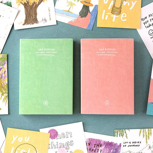 Livework Life and pieces postcard collection set