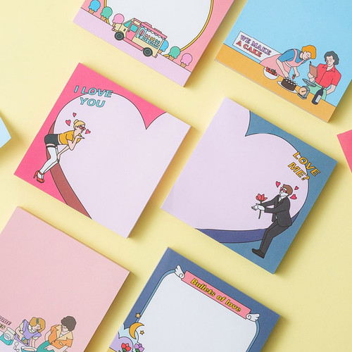 Ardium Sweet and Love memo writing notepad