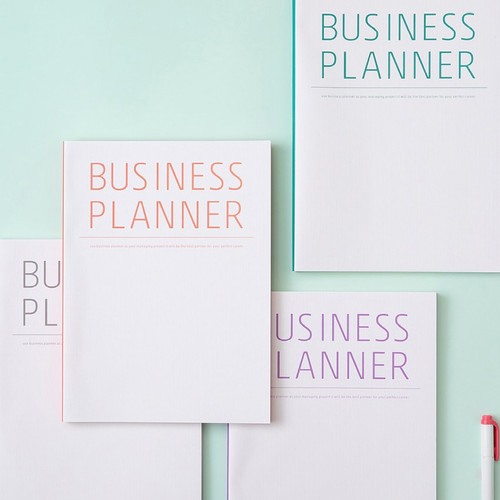 Ardium Business 3 months dateless daily planner scheduler ver3