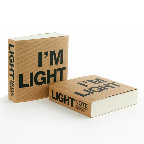 New I'm Light plain notebook
