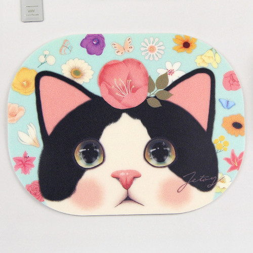 Jetoy Choo Choo lovely cat mouse pad