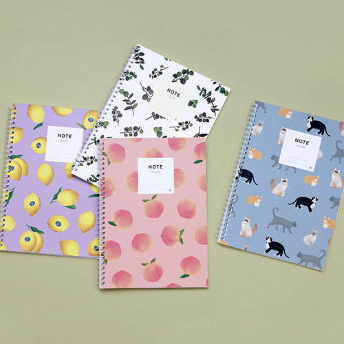 Gungmangzeung Lovable spiral bound lined notebook ver2