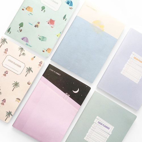 O-CHECK Spring come cash book planner