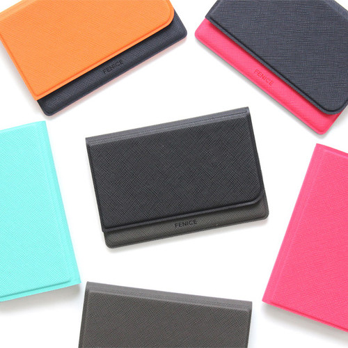 Fenice Premium business PU cover card case pocket