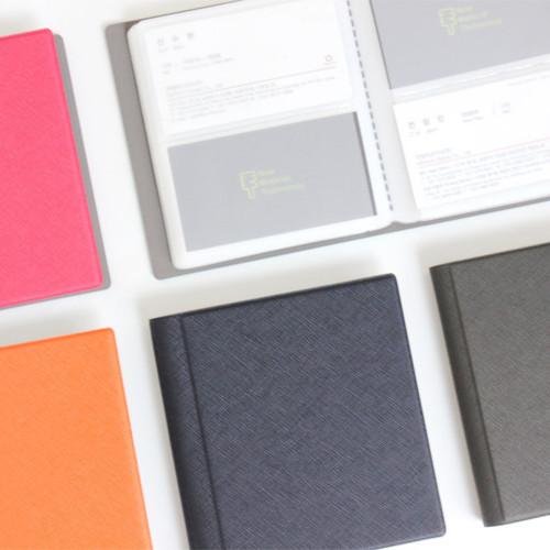Fenice Premium PU business card book holder case