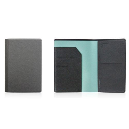 Fenice Premium PU RFID blocking small passport case holder wallet