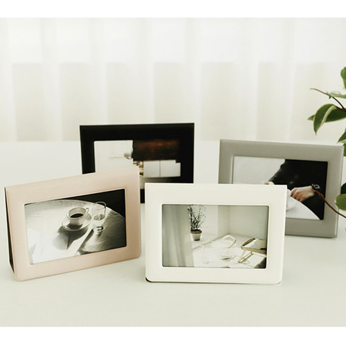 Fenice Premium PU leather two ways magnetic picture frame