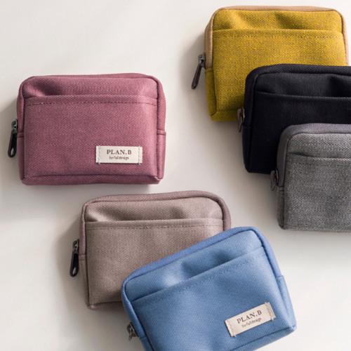Byfulldesign Oxford multi small pocket zipper pouch ver2