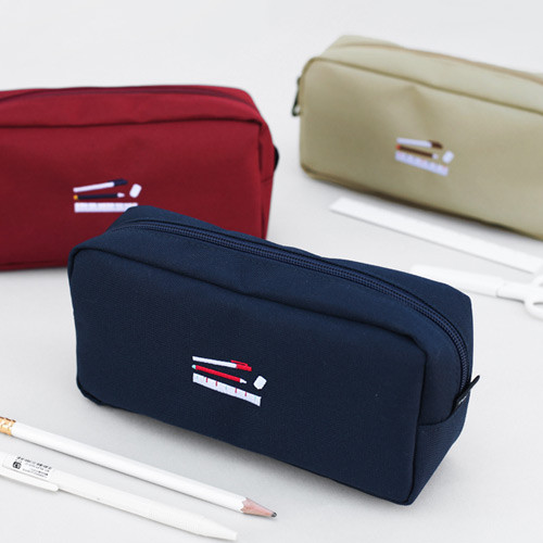 2NUL Bulky zipper pencil case pen pouch
