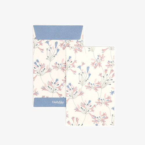 Dailylike African lily small card and envelope set