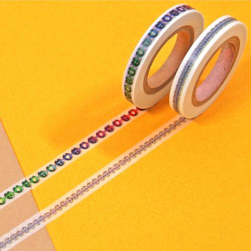 Jewelry pattern 6mm thin deco masking tape set