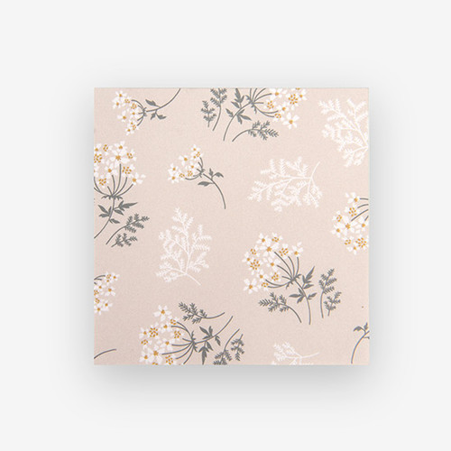 Dailylike Lace flower 2 designs memo writing notepad
