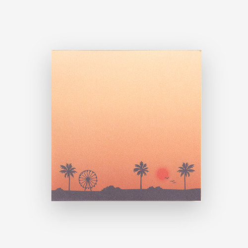 Dailylike Sunset 2 designs memo writing notepad