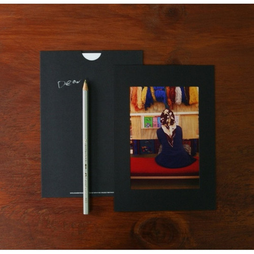 3X5 Black paper photo frame set of 10 sheets