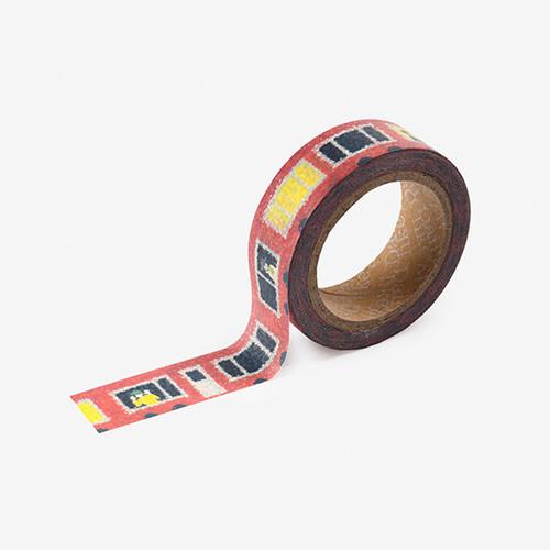 Dailylike Train single roll paper deco masking tape