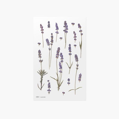 Appree Lavender press flower deco sticker