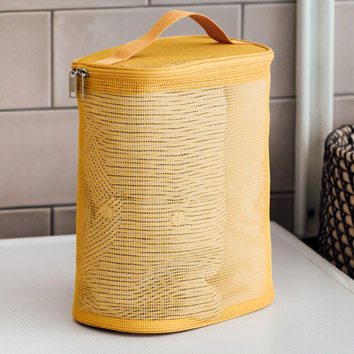Livework A low hill spa mesh travel zipper tote bag