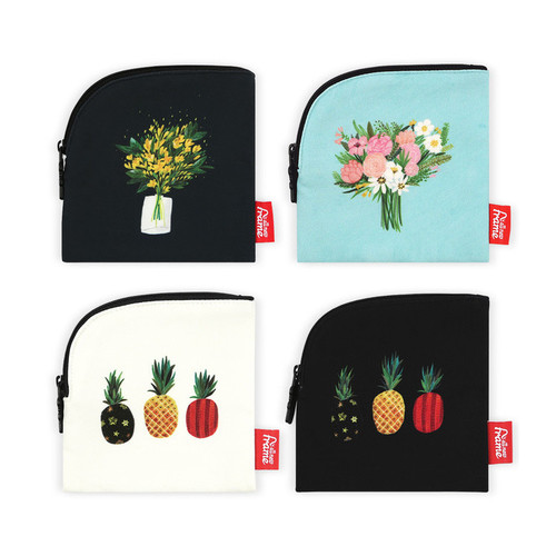 All new frame Myeongmi Choi collection mini zipper pouch
