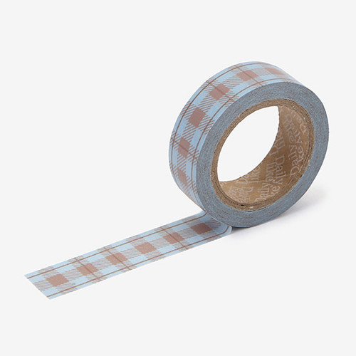 Dailylike Vintage check single roll paper masking tape