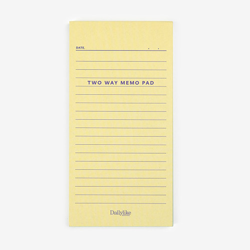 Dailylike Memo two way memo writing notepad