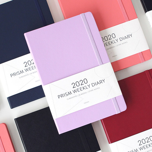 Indigo 2020 Prism dated weekly planner notebook