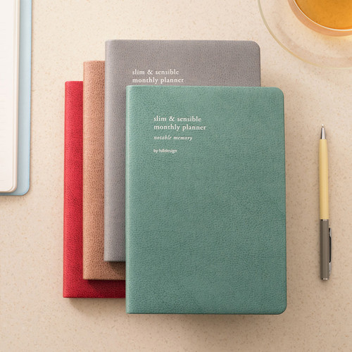 Byfulldesign 2020 Notable memory B6 dated monthly planner