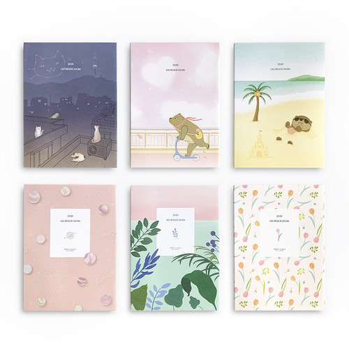 O-CHECK 2020 Les beaux jours dated weekly diary planner