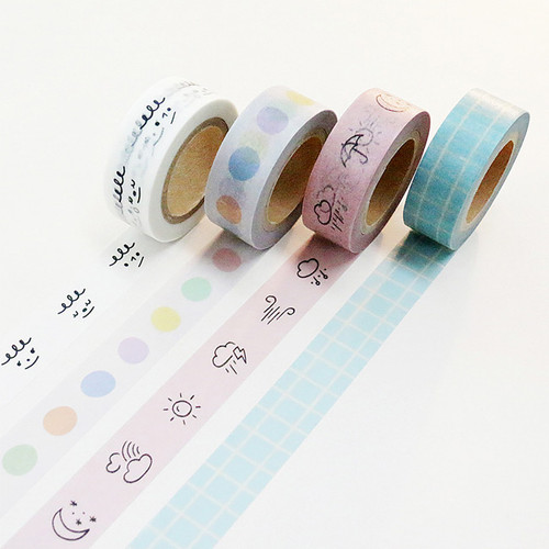 Gyou Compound single roll paper masking tape