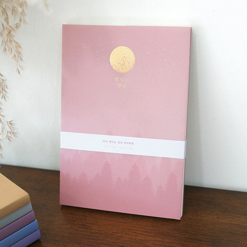 3AL 2020 Brighten day dated weekly diary planner