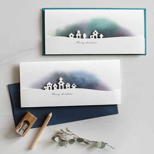 DBD Aurora Christmas card with envelope